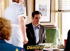 Watch say dun, say phy GIF on Gfycat. Discover more *g:mf, *mf:s04, 4.20 flip flop, gil thorpe, modern family, phil dunphy, rob riggle, ty burrell GIFs on Gfycat