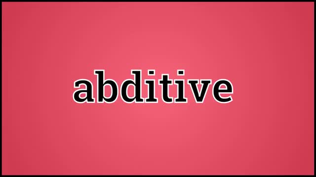 Watch and share Abditive Definition GIFs and Abditive Meaning GIFs on Gfycat