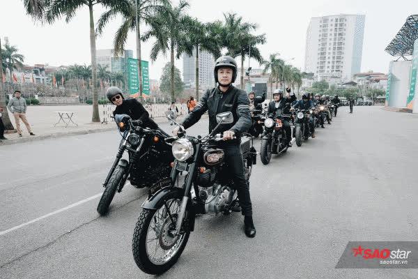 MC Anh Tuấn cùng bạn bè diễu hành mô tô tưởng nhớ người anh em Trần Lập ảnh 12