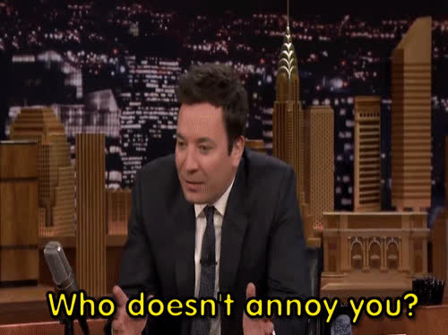Cats, People are Annoying, jimmy fallon, ricky gervais, My Cat Doesn't Annoy Me GIFs