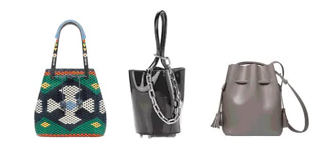landscape elle bucket bag