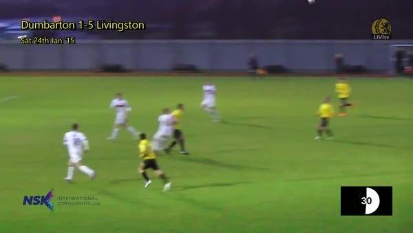 scottishfootball, Phenomenal hit from Keaghan Jacobs for Livingston v Dumbarton (reddit) GIFs