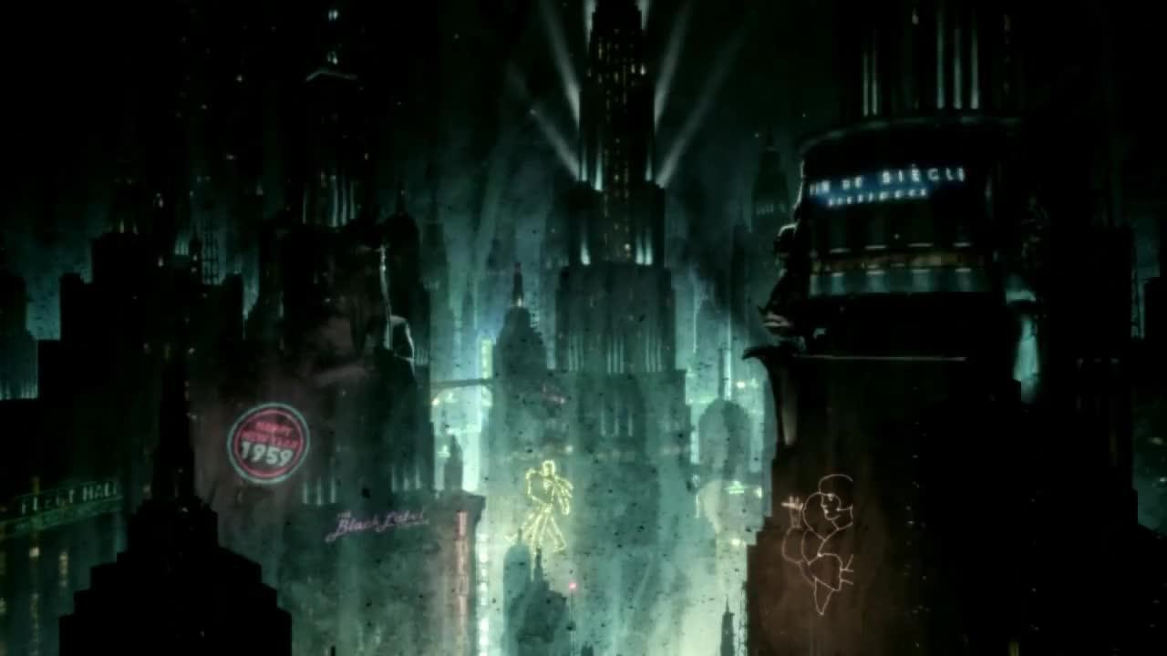 destiny2, hq, soundtrack, Bioshock; Outside the window gif GIFs