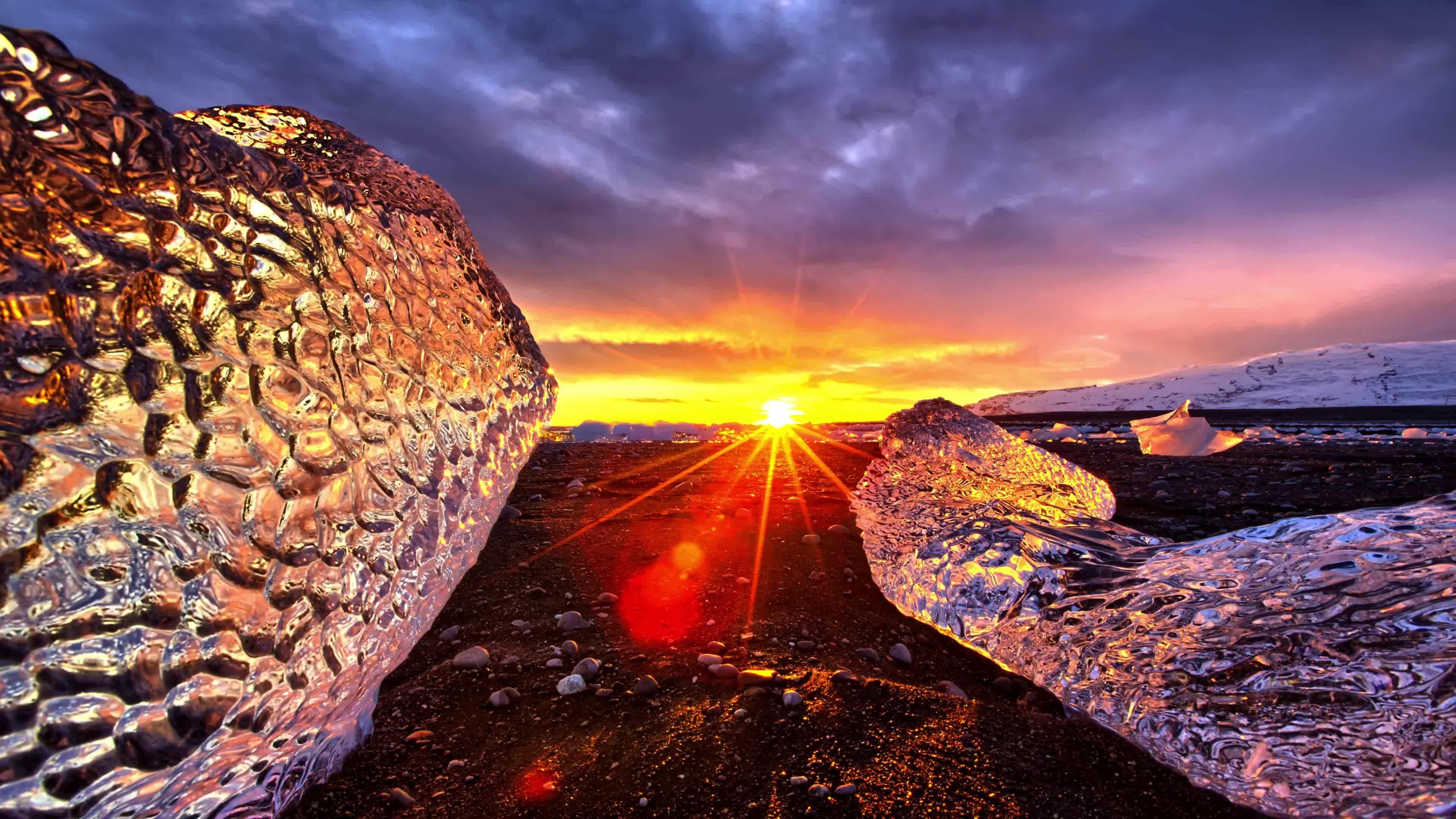 #weathergifs, WeatherGifs, Iceland in 8k GIFs