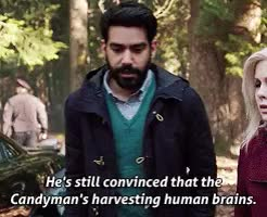 Watch He wouldn't tell me anything, I- I really don't want to talk GIF on Gfycat. Discover more *t, 1x09, Liv Moore, Major Lilywhite, Ravi Chakrabarti, dailyizombie, gif, his little thumbs up, izombieedit, original GIFs on Gfycat
