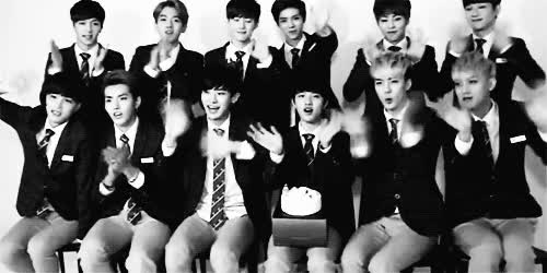 Watch this exo GIF on Gfycat. Discover more exo, waving GIFs on Gfycat