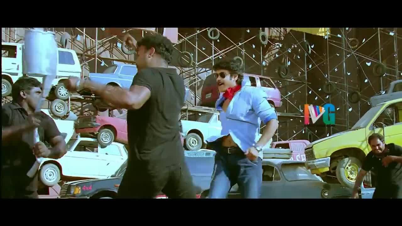 bollywoodrealism, Damarukam Telugu Full Movie w/subtitles | Nagarjuna | Anushka | Prakash Raj | Devi Sri Prasad (reddit) GIFs