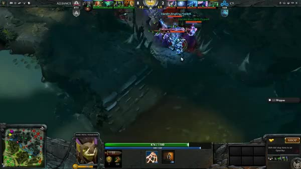 Watch 70,000$ Akke Troll Aegis Deny Dota 2 (reddit) GIF on Gfycat. Discover more related GIFs on Gfycat
