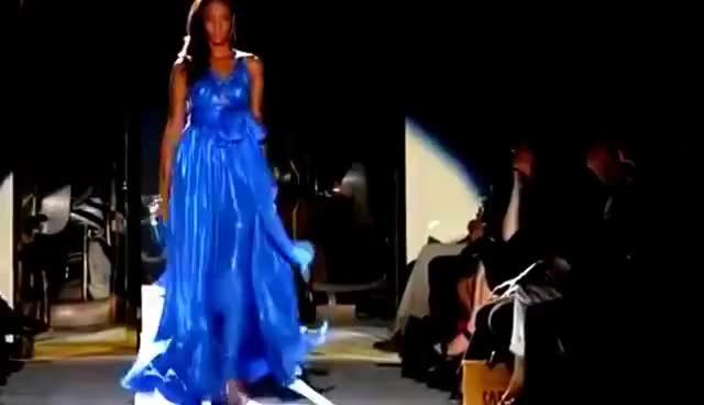 Watch and share Runway GIFs and Dress GIFs on Gfycat