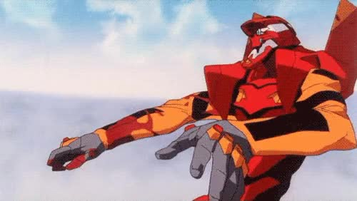 Watch neon genesis evangelion modern family gif GIF on Gfycat. Discover more related GIFs on Gfycat
