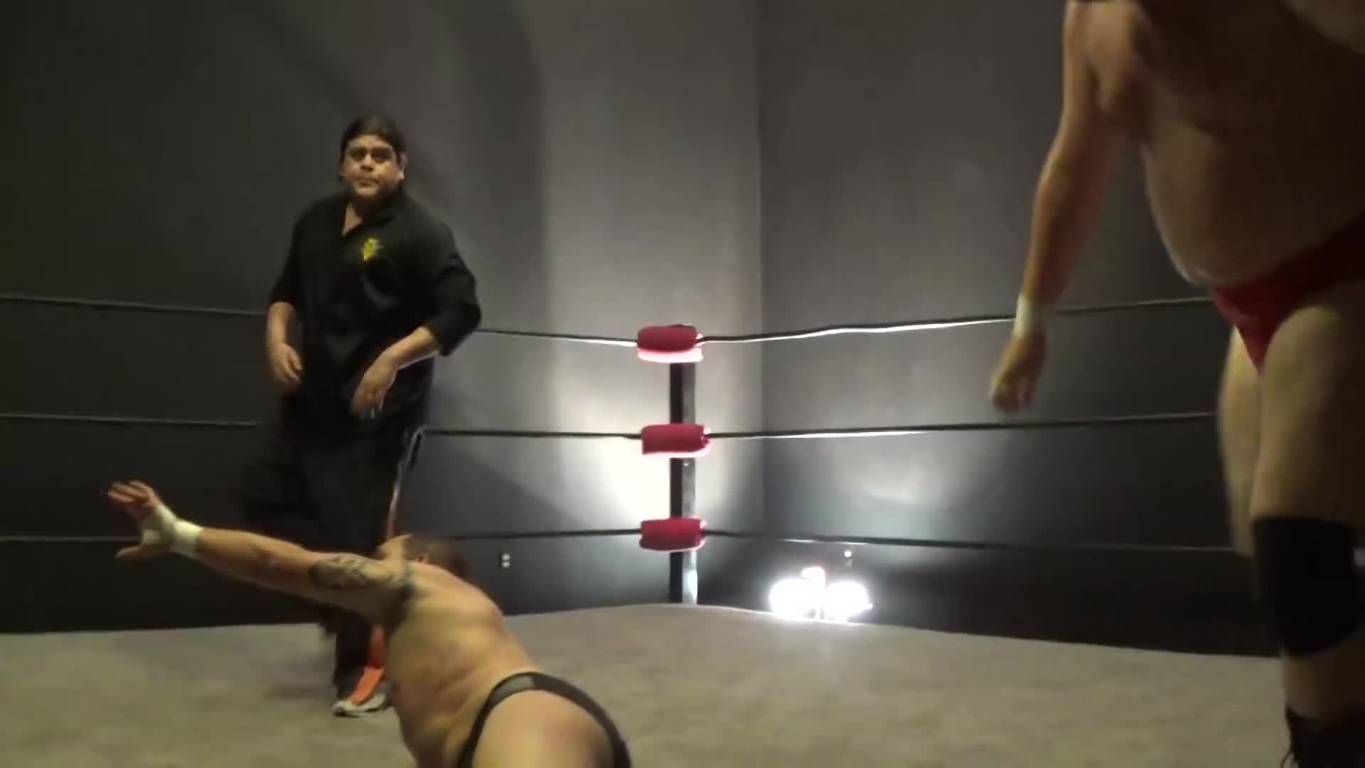 Cheap shot, Ref, Ricardo Rodriguez, Tag team, wrestlers, Cheap shot GIFs