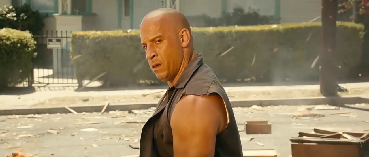 Fast and Furious 7 - House explosion GIFs