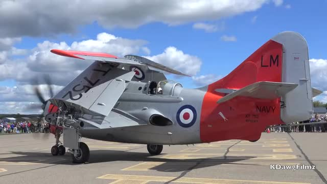 Watch and share Fairey Gannet Janet GIFs and Coaxial Propellers GIFs on Gfycat