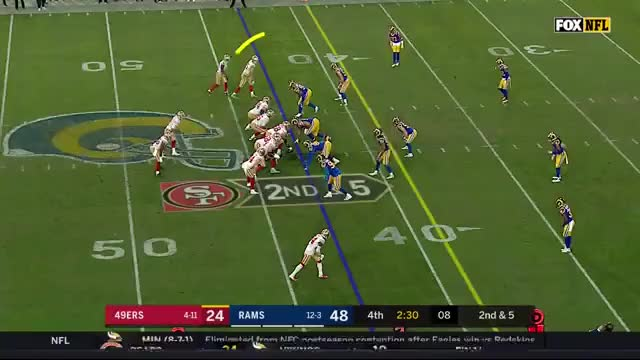 Watch and share  George Kittle Breaks NFL Season Record For Most Passing Yards By A TE GIFs on Gfycat