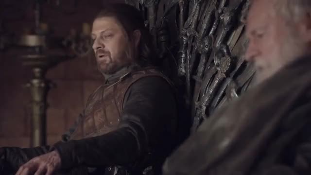 Watch this eddard stark GIF on Gfycat. Discover more eddard stark, fake, game of thrones, movie, ned stark, preview, sean bean, trailer, tyrion GIFs on Gfycat