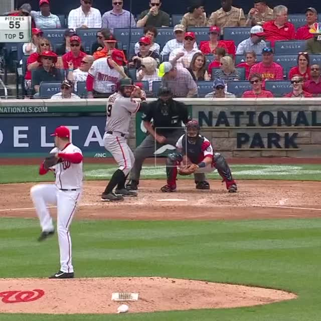 Watch and share Nationals GIFs and Sf Giants GIFs by yyhislit on Gfycat