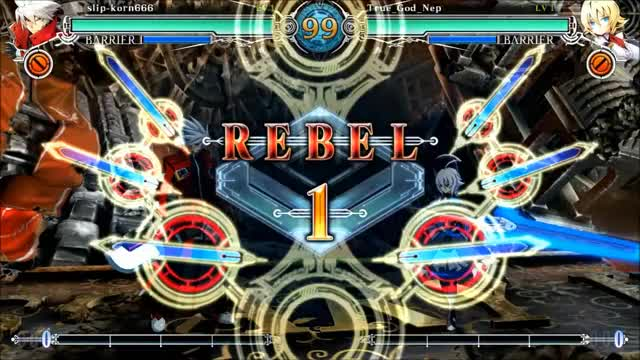 Watch and share BBCF - True_God_Nep (Es) VS The World GIFs on Gfycat