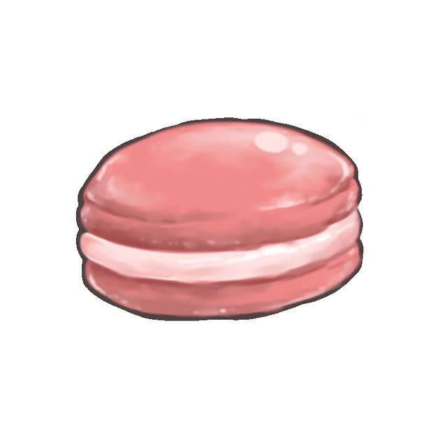 Watch and share Macaron GIF By Flytokol animated stickers on Gfycat