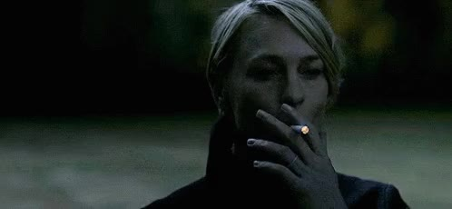 Watch Smoking GIF on Gfycat. Discover more robin wright GIFs on Gfycat