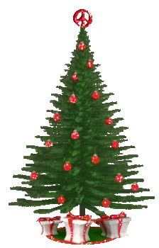Watch and share Christmas Tree Red Decor GIFs on Gfycat