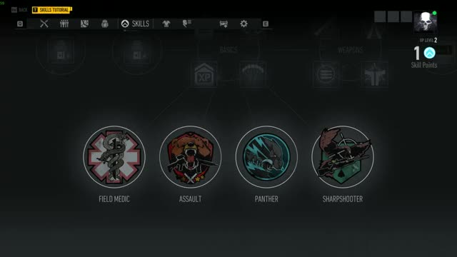 Watch and share Tom Clancy's Ghost Recon Breakpoint Character Path Selection GIFs by GoingZEUS on Gfycat