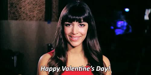 Watch and share Valentines Day GIFs and Hannah Simone GIFs on Gfycat