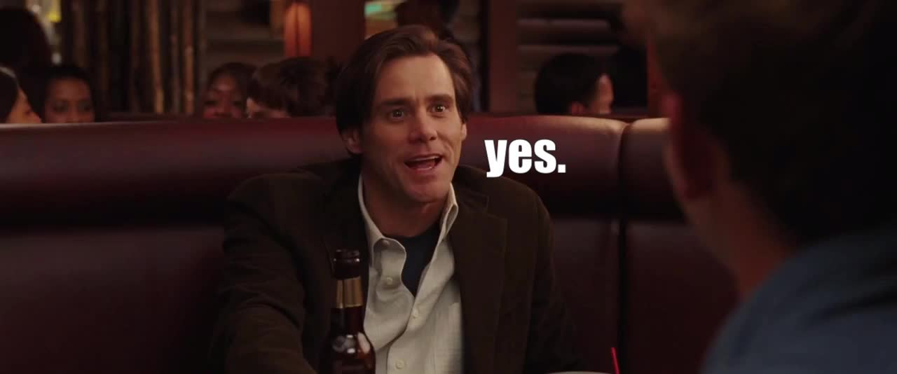 jim carrey, yes, yes. GIFs