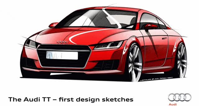 Watch and share Audi TT Sketches GIFs on Gfycat