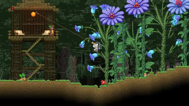 Watch and share Starbound Grappling Hook Horizontal GIFs on Gfycat
