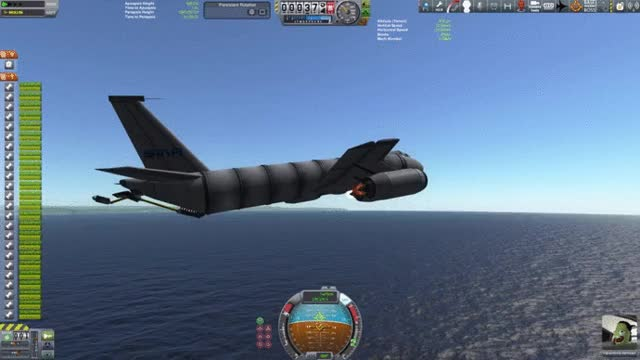Watch Stock KC-135 with deployable boom for refuelling GIF by @selfishmeme on Gfycat. Discover more kerbalplanes, kerbalspaceprogram GIFs on Gfycat