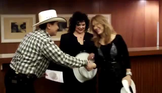 Watch cowboy hat GIF on Gfycat. Discover more hat, nancy wilson GIFs on Gfycat