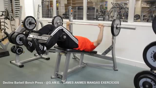 Watch and share Decline Bench Press GIFs and Shoulders GIFs on Gfycat