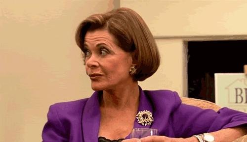 ArrestedDevelopment, Jessica Walter, Judgemental, LucilleBluth, Silently judging with my eyes [Arrested Development Lucille Bluth Jessica Walter] GIFs