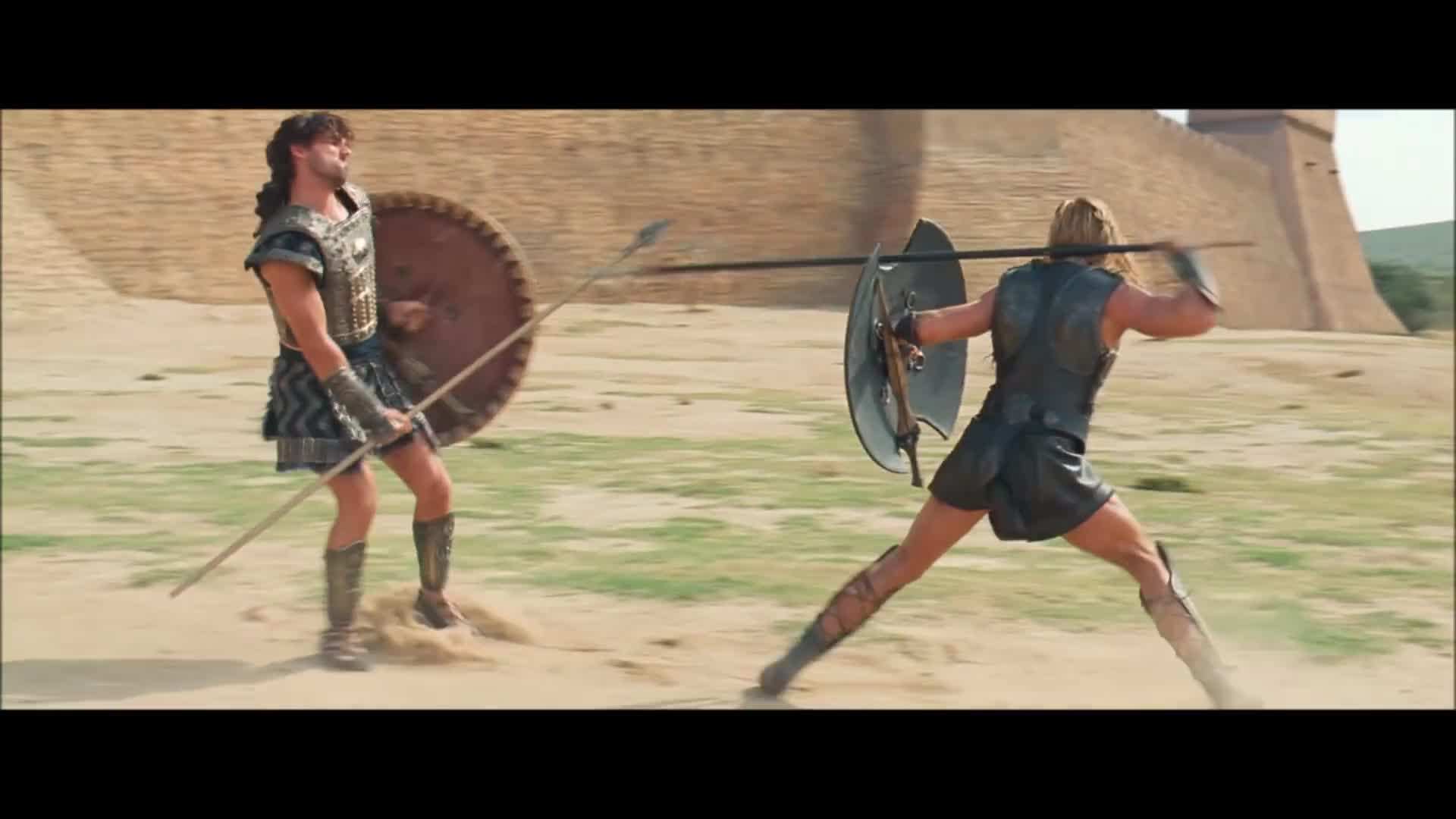 Troy (2004) Hector vs Achilles [1080p HD]