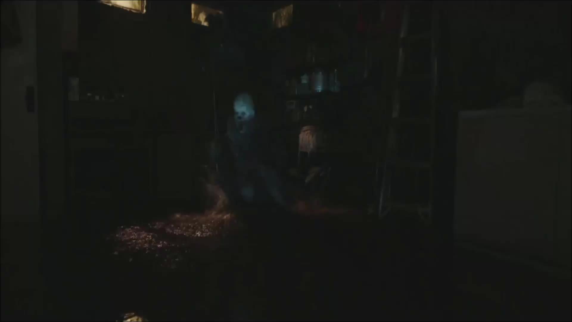 clown, creepy, horror, it, it movie, scary, warner bros., warnerbros, wb, Clown rush. GIFs