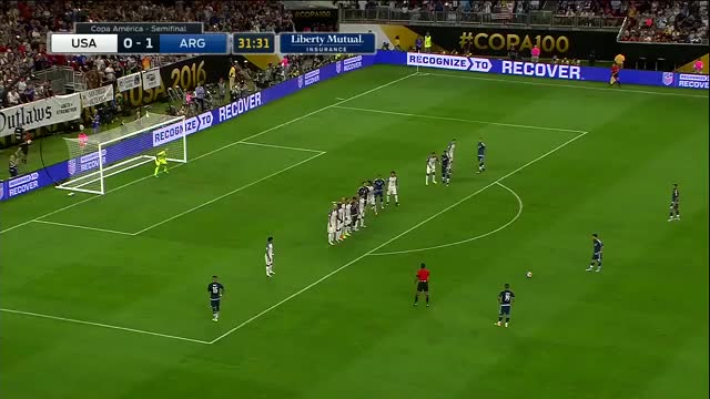 Watch Messi Free Kick vs USA  ► in 1080p & with English Commentary ||HD|| GIF on Gfycat. Discover more leo messi, lionel messi, messi GIFs on Gfycat