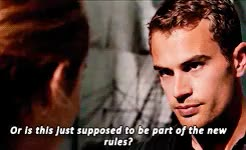 Watch and share Shailene Woodley GIFs and Theo James Gifs GIFs on Gfycat