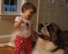 Watch C'mere Ya Big Lug GIF by JustViral.Net (@justviralnet) on Gfycat. Discover more aww.dog, baby, cute, hugging, justviral.net GIFs on Gfycat