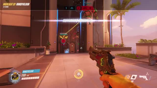Watch and share Highlight GIFs and Overwatch GIFs by randyvelour on Gfycat