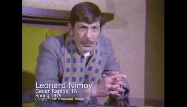 Watch this trending GIF on Gfycat. Discover more nimoy GIFs on Gfycat