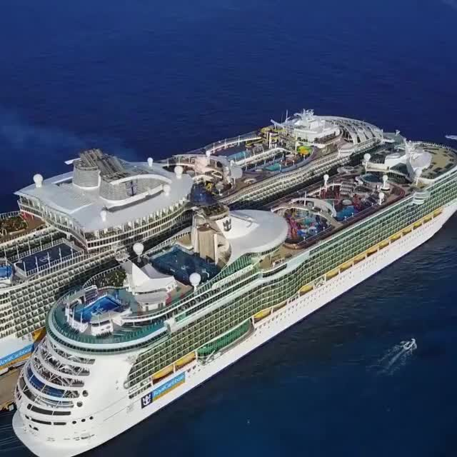 Watch and share Cruise Ships In Cozumel Island Of Mexico GIFs on Gfycat