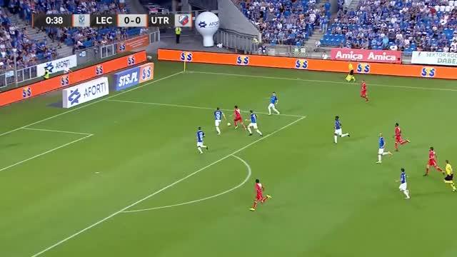 Watch and share Kerk Goal Vs Lech Poznan (1-0) GIFs by minieri on Gfycat