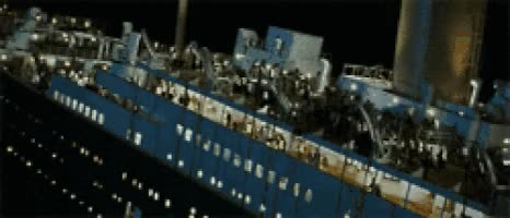 Watch and share Titanic Sinking GIFs on Gfycat