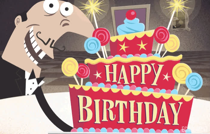 Birthday, French, Fun, Gaursion, Happy Birthday, Waiter, lol, Happy Birthday GIFs
