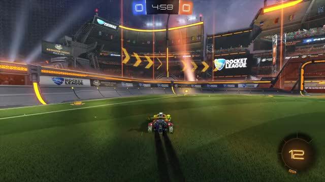 Watch and share Rocket League GIFs and Goalie GIFs by myboregasm on Gfycat
