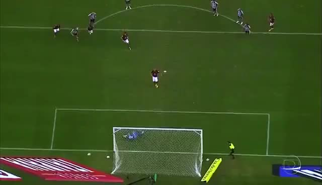 Watch and share Botafogo 2 X 1 Flamengo - Jefferson Defende Pênalti De Adriano - Final Carioca 2010 GIFs on Gfycat
