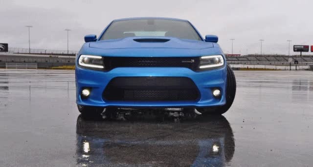 Watch and share Dodge Charger RT Scat Pack In Blue GIFs on Gfycat