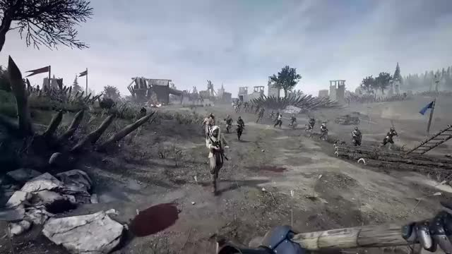 Watch and share Mordhau - Official Trailer 1 GIFs by Pickled Sea Cat on Gfycat