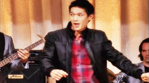 Watch and share Harry Shum Jr GIFs on Gfycat