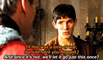 Watch and share The Gates Of Avalon GIFs and Colin Morgan GIFs on Gfycat